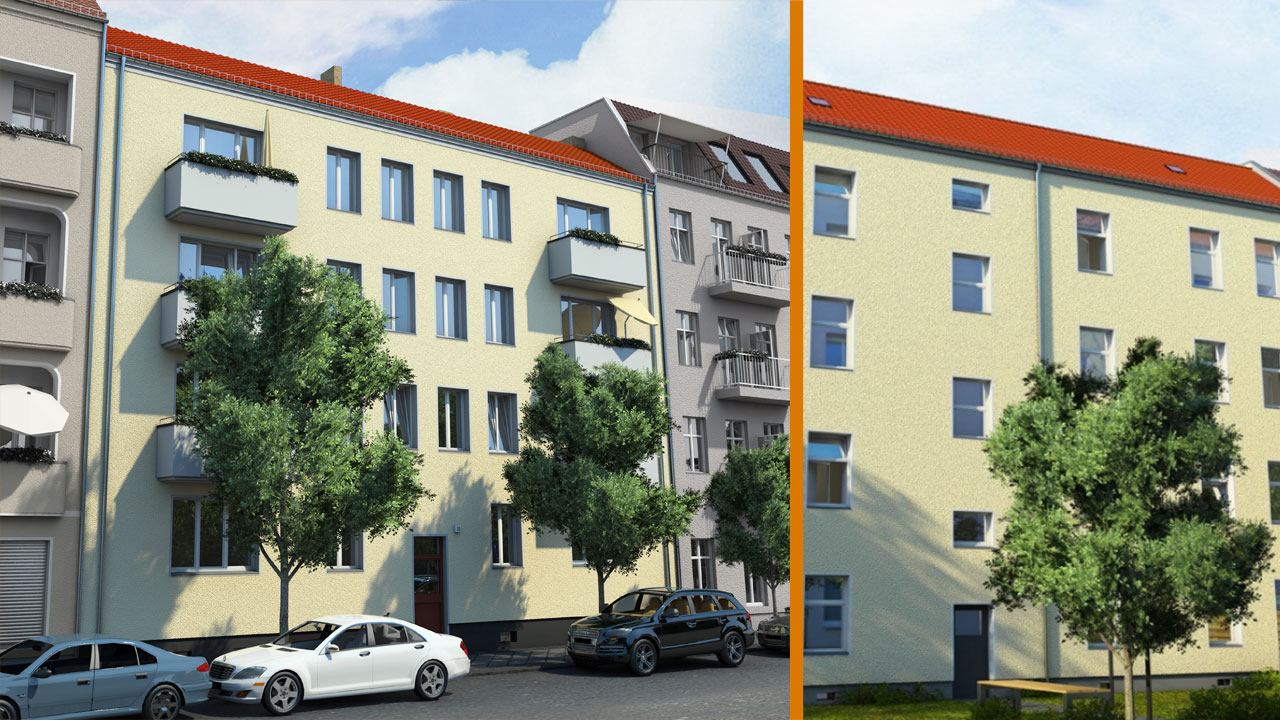 Kapitalanlage in Berlin-Treptow / Altbau