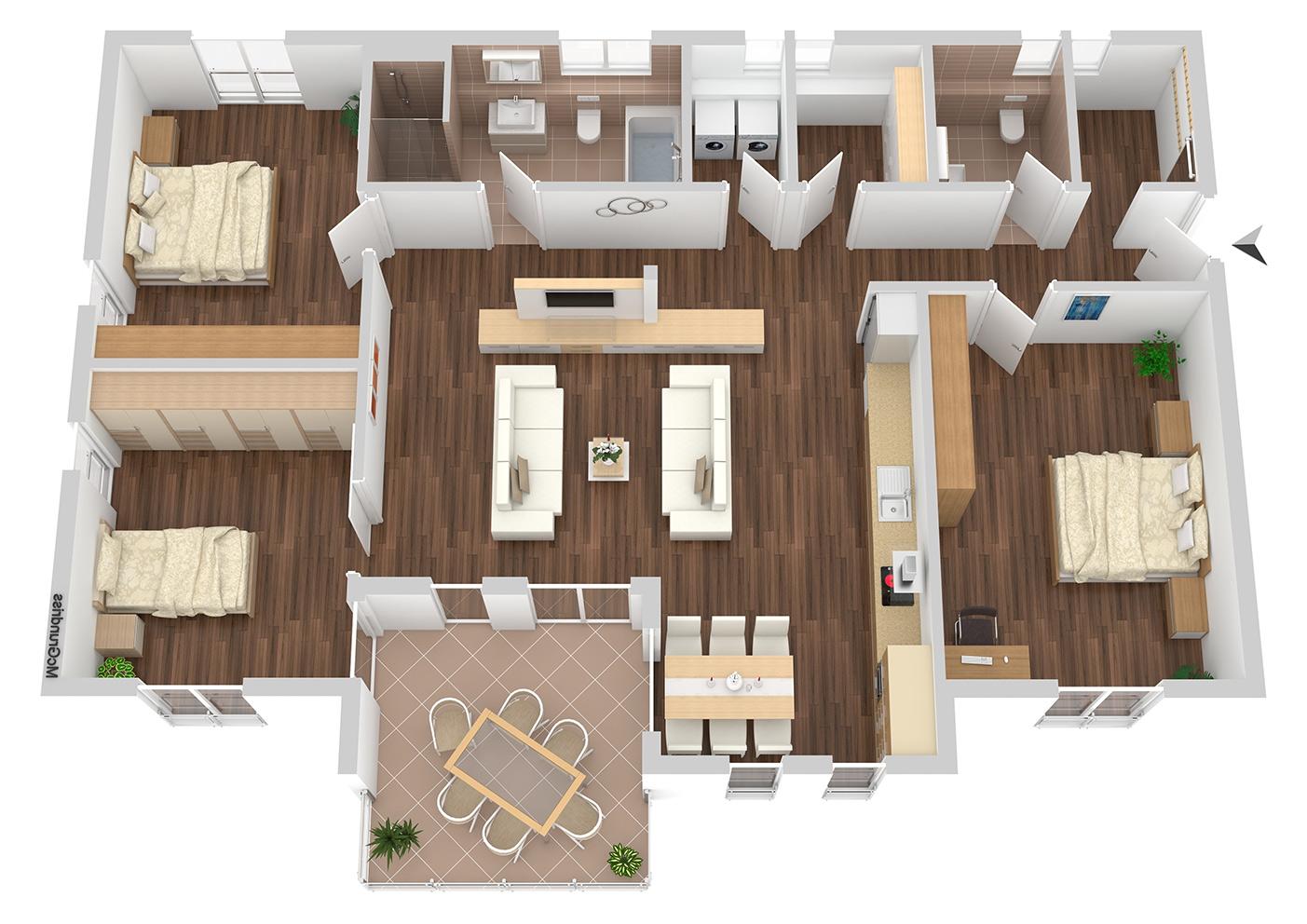 Grundriss Wohnung Nr 5
